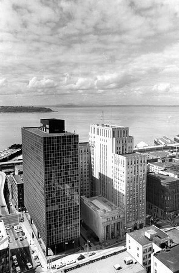 Downtown Seattle in 1975. Photo: P-I File