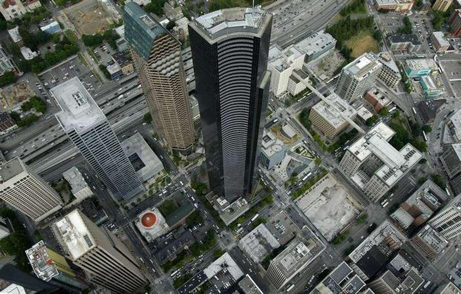 Downtown Seattle and the Columbia Tower in 2007. (Joshua Trujillo / P-I) Photo: Joshua Trujillo, P-I File