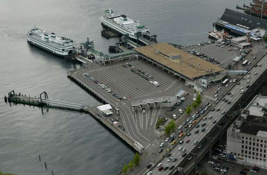 The Washington State Ferries Coleman Dock photographed in 2007. (Joshua Trujillo / P-I) Photo: P-I File
