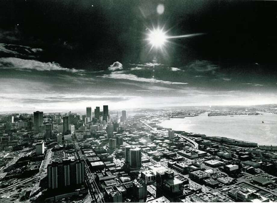 Downtown Seattle in 1977. Photo: P-I File