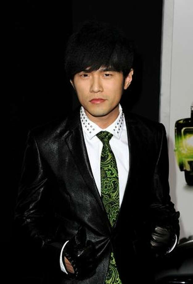 "Actor Jay Chou arrives at Columbia Pictures' ""The Green Hornet"" premiere at Grauman's Chinese Theatre in Hollywood, California. Photo: Getty Images"