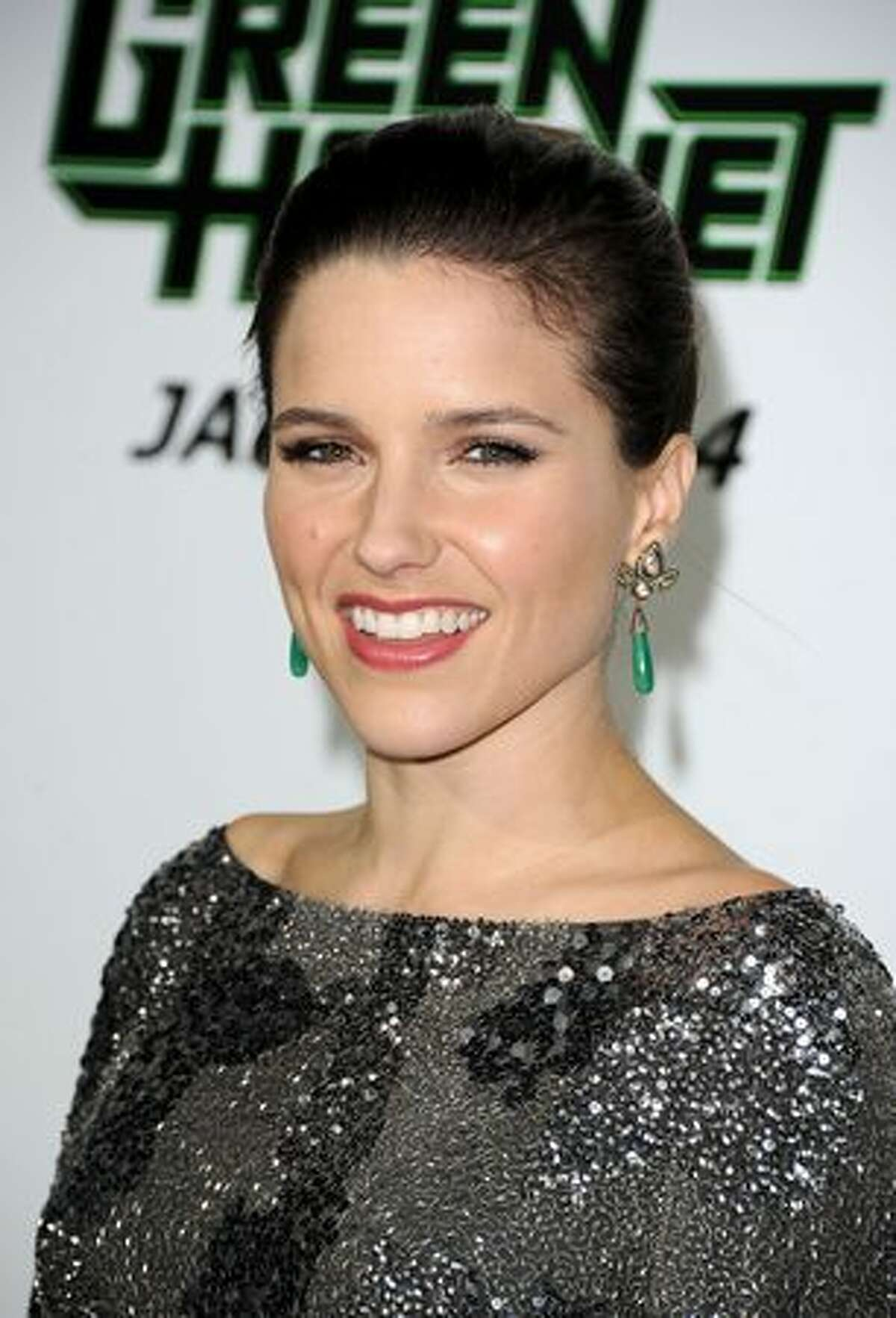 Actress Sophia Bush arrives at Columbia Pictures'