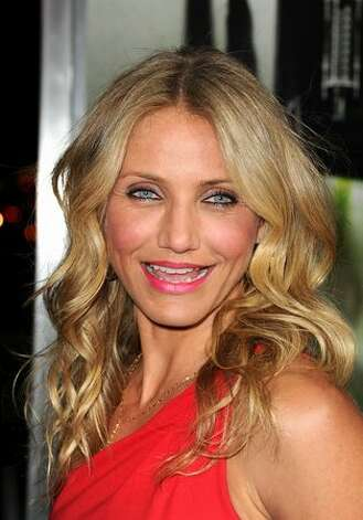 "Actress Cameron Diaz arrives at Columbia Pictures' ""The Green Hornet"" premiere at Grauman's Chinese Theatre in Hollywood, California. Photo: Getty Images"