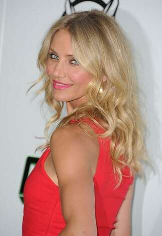 Actress Cameron Diaz arrives at Columbia Pictures' 'The Green Hornet' premiere at Graumans Chinese Theatre in Hollywood, California. Photo: Getty Images