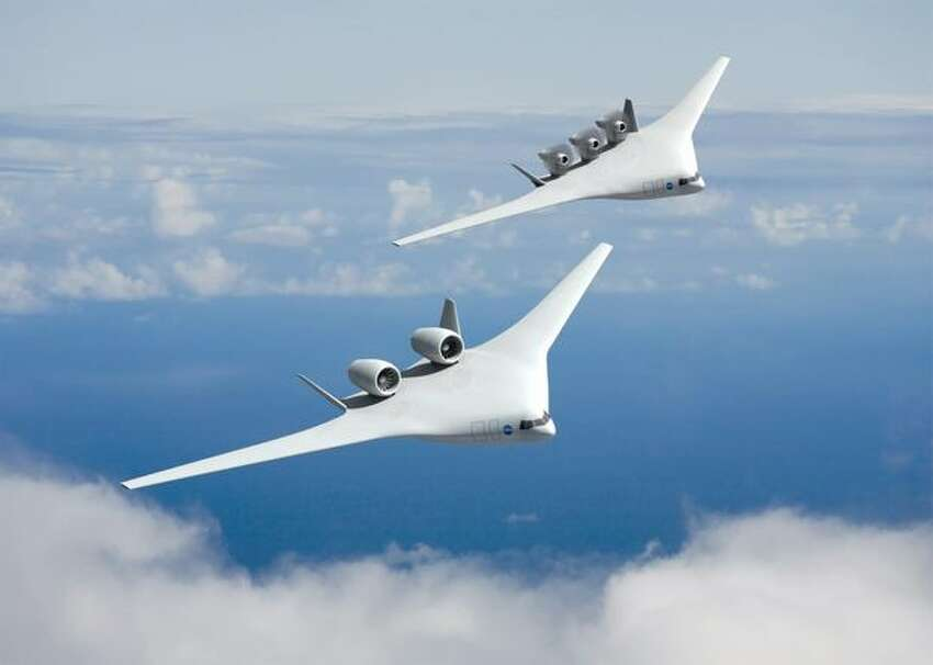 Artist's concept of aircraft that could enter service in 2025 from the team led by Boeing.