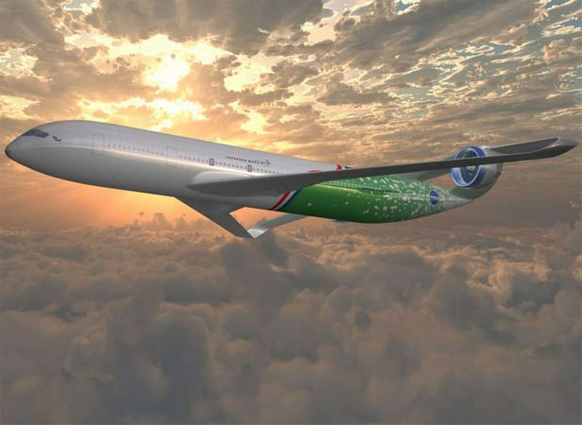 Artist's concept of an aircraft that could enter service in 2025 from the team led by Lockheed Martin.
