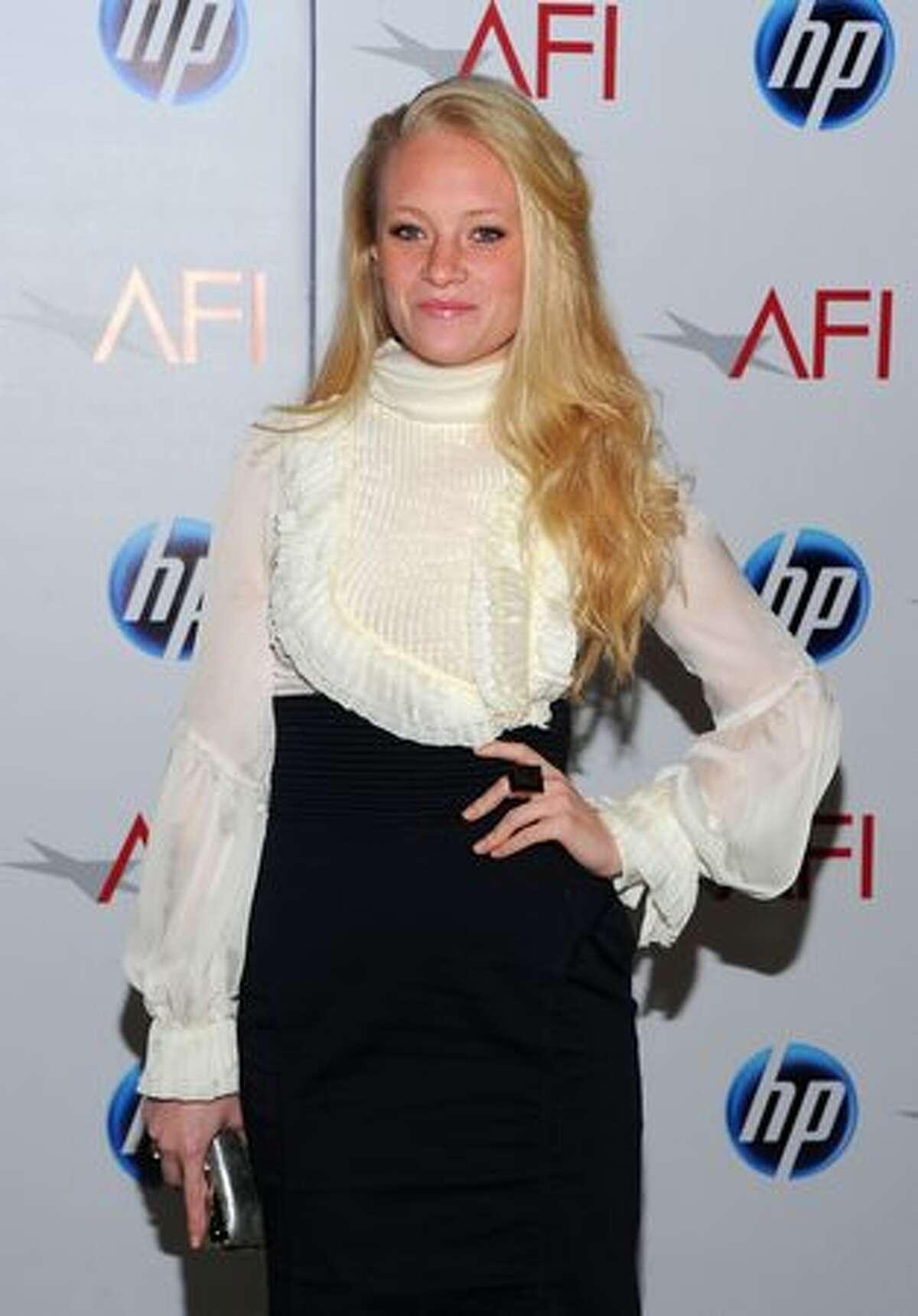 Actress Lauren Sweetser attends.