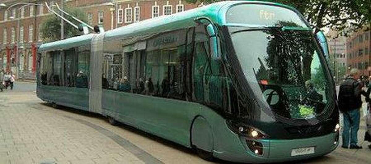 Wright streetcar concept.