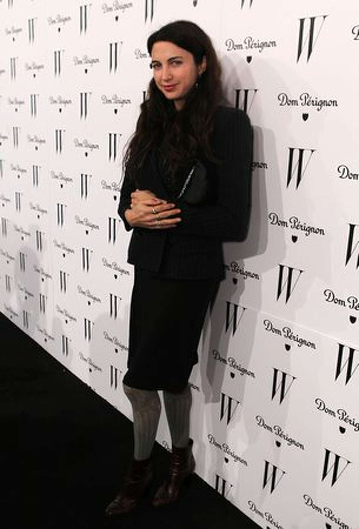 Actress Shiva Rose arrives at W Magazine's Celebration of The Best Performances Issue and The Golden Globes held at at Chateau Marmont in Los Angeles on Friday, Jan. 14, 2011.