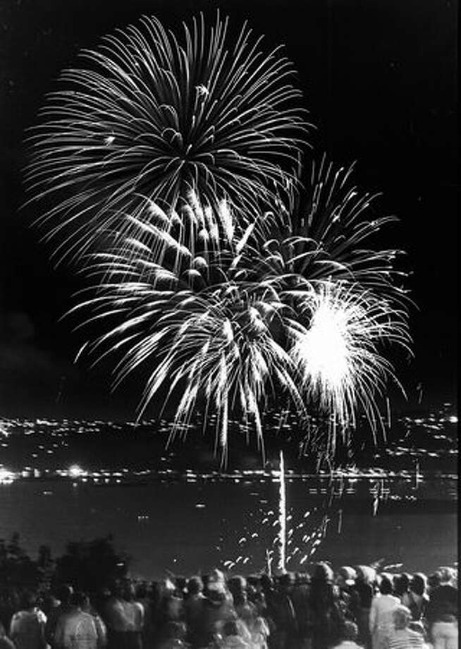 The 1978 Fourth of July celebration in Seattle. Photo: P-I File