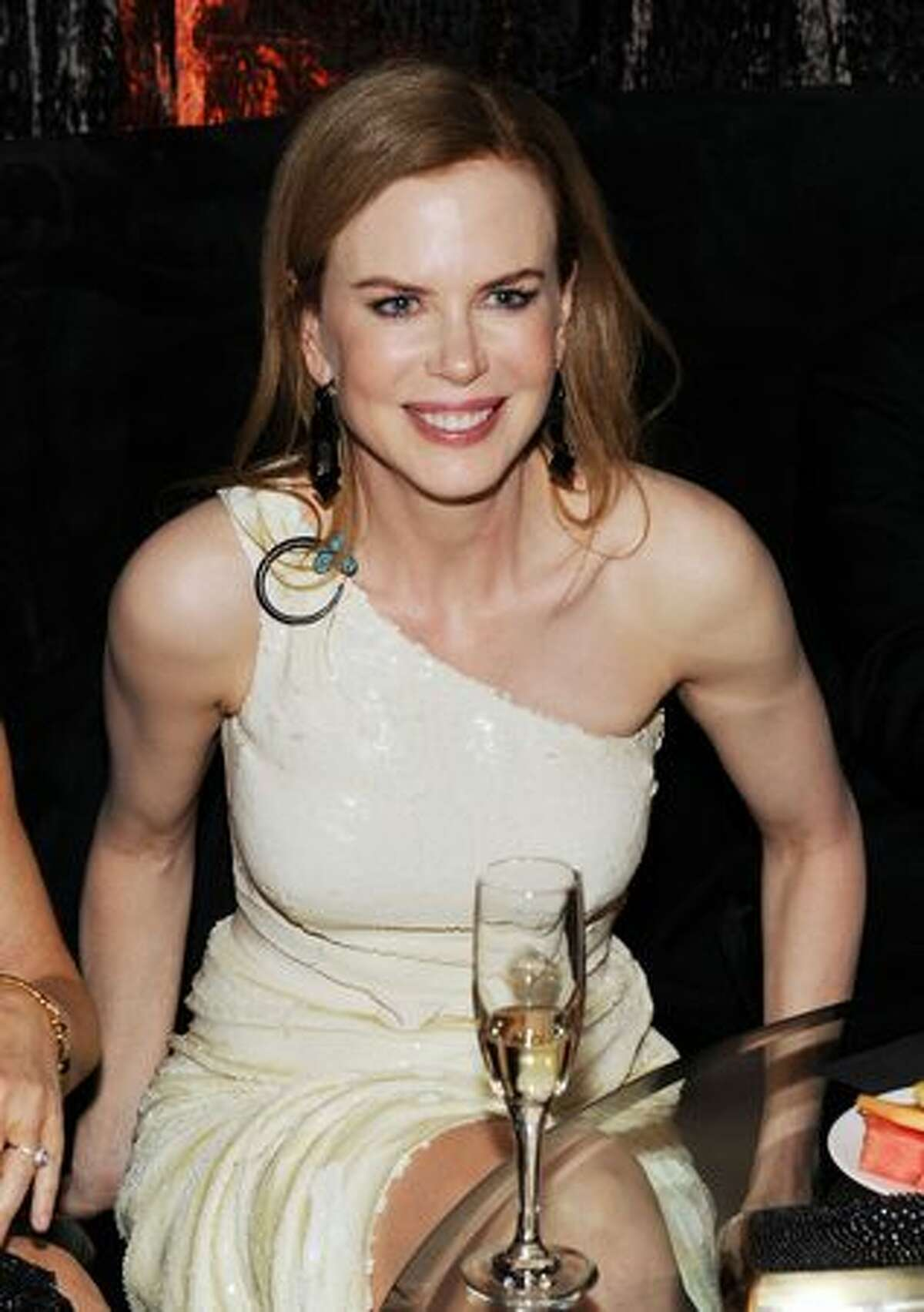 Actress Nicole Kidman attends Relativity Media and The Weinstein Company's 2011 Golden Globe Awards After Party presented by Marie Claire.