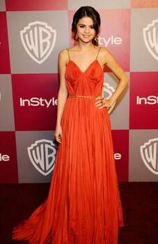Actress/singer Selena Gomez arrives at the 2011 InStyle And Warner Bros. 68th Annual Golden Globe Awards post-party. Photo: Getty Images