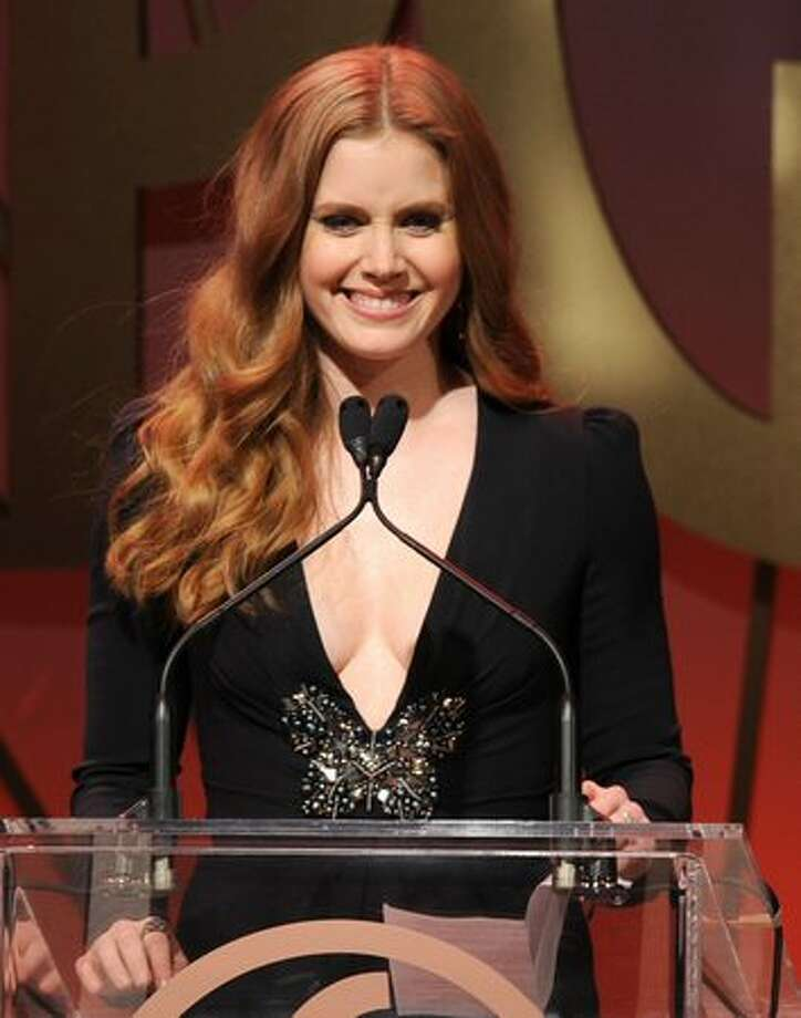 "Amy Adams, nominated for best supporting actress for ""The Fighter."" Photo: Getty Images"