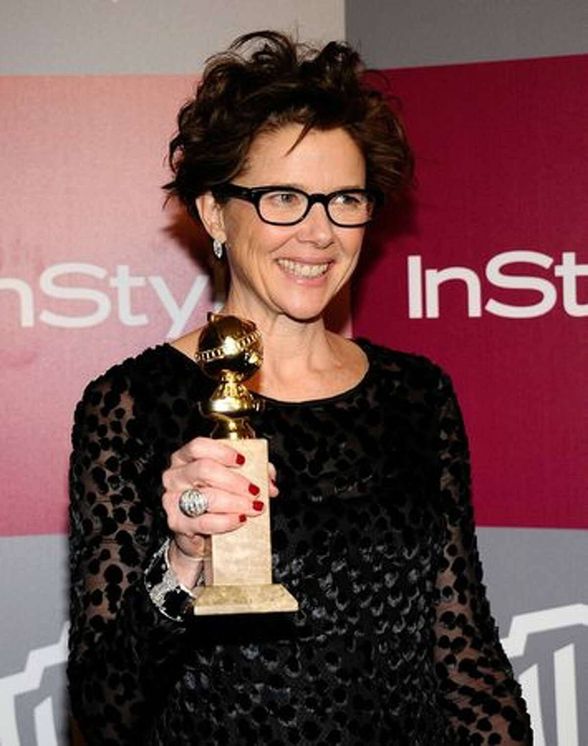 """Annette Bening was nominated for best actress for """"The Kids Are All Right"""" as this year's Oscar nominees were announced."""