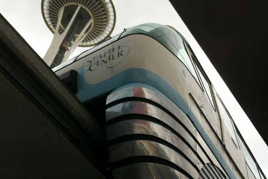 The Seattle Monorail, Sept. 9, 2005. (Phil H. Webber/Seattlepi.com file) Photo: P-I File