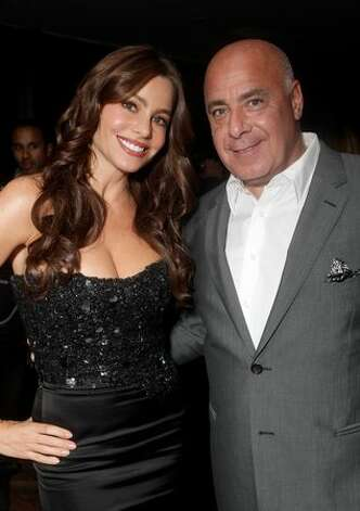 Actress Sofia Vergara (L) and ELLE Vice President, Brand Publisher Kevin Martinez attend ELLE Women In Television event at Soho House in West Hollywood, California. Photo: Getty Images