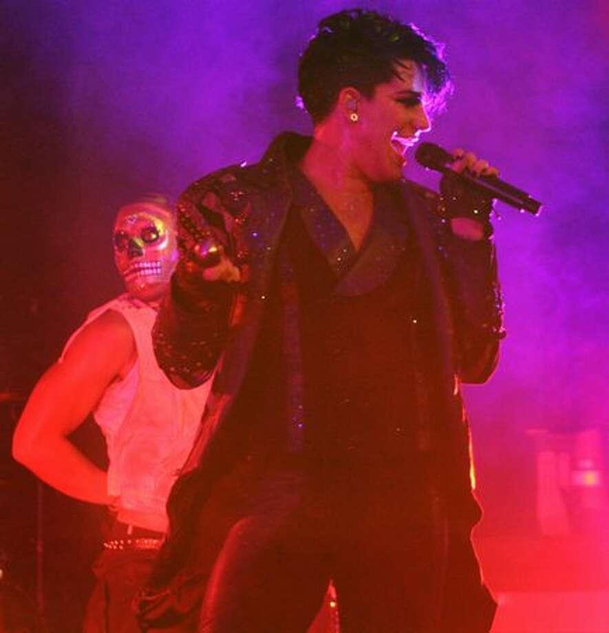 Adam Lambert performs at the Showbox SoDo in Seattle. Photo: William Baldon, Seattlepi.com