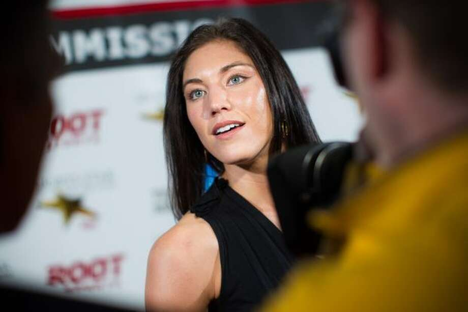 U.S. Women's National Soccer Team goalkeeper Hope Solo arrives at the 76th Annual Sports Star of the Year, presented by ROOT SPORTS, at Benaroya Hall in Seattle Wednesday, Jan. 26, 2011. The evening honors Northwest sports stars, carrying on an annual tradition started by Seattle Post-Intelligencer sports editor Royal Brougham in 1936. Photo: Dan DeLong, RedBox Pictures