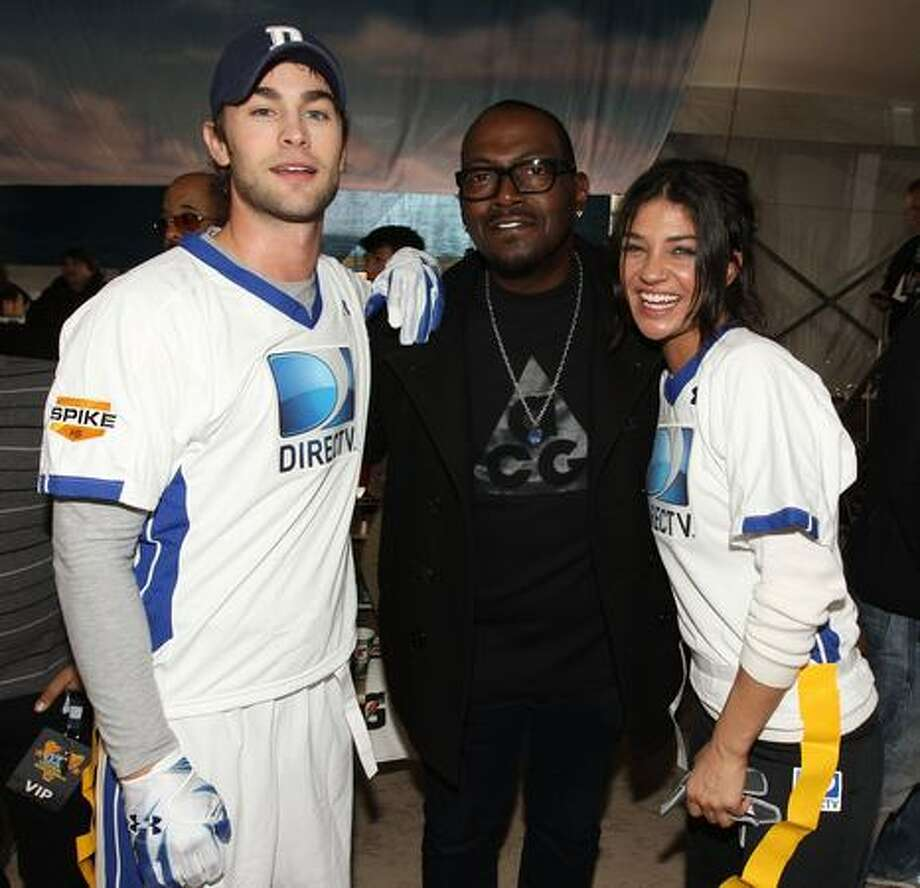 Actor Chace Crawford, TV Personality Randy Jackson and actress Jessica Szohr compete. Photo: Getty Images