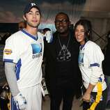 Actor Chace Crawford, TV Personality Randy Jackson and actress Jessica Szohr compete.
