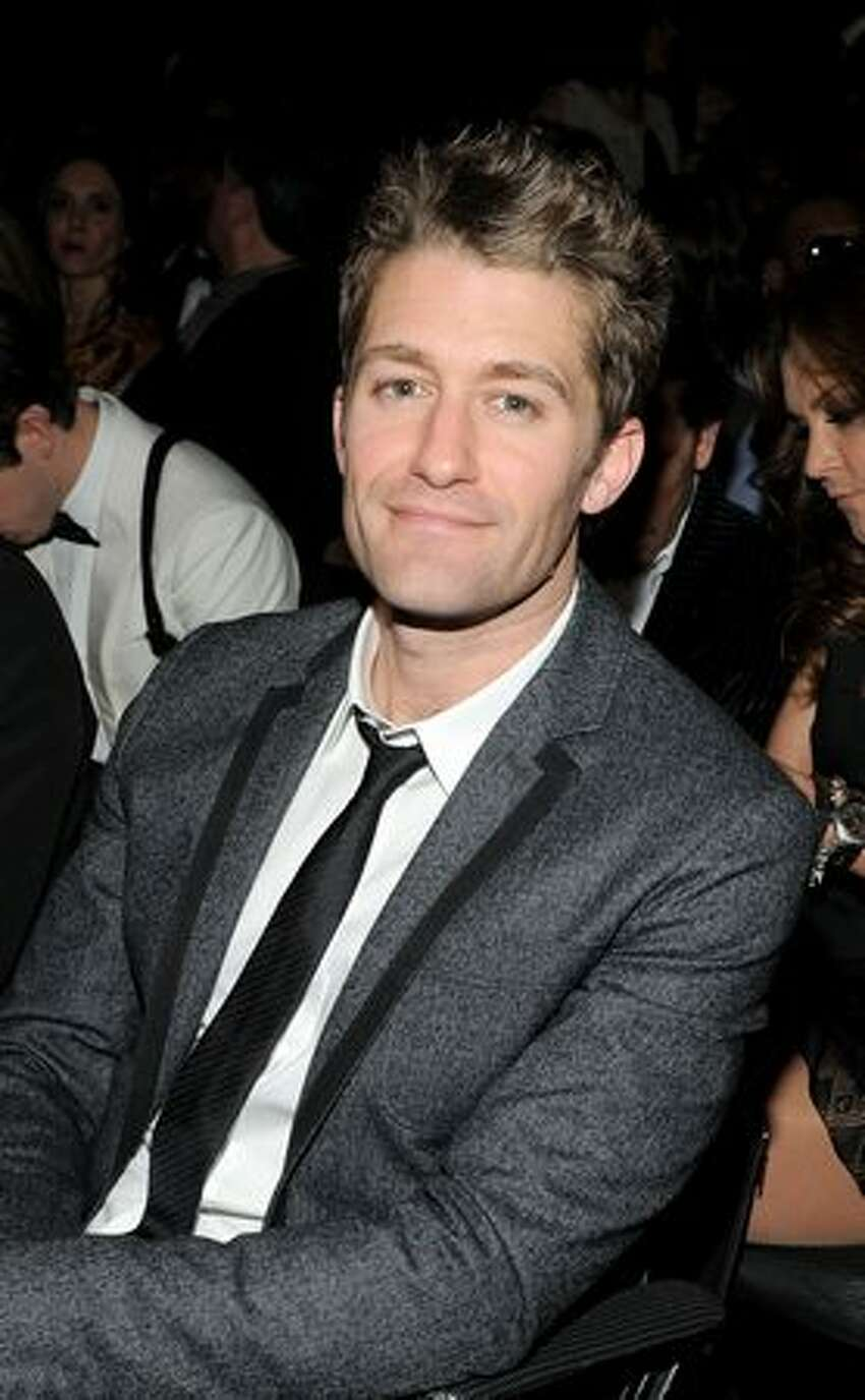 Actor Matthew Morrison attends The 53rd Annual GRAMMY Awards held at Staples Center in Los Angeles, California.