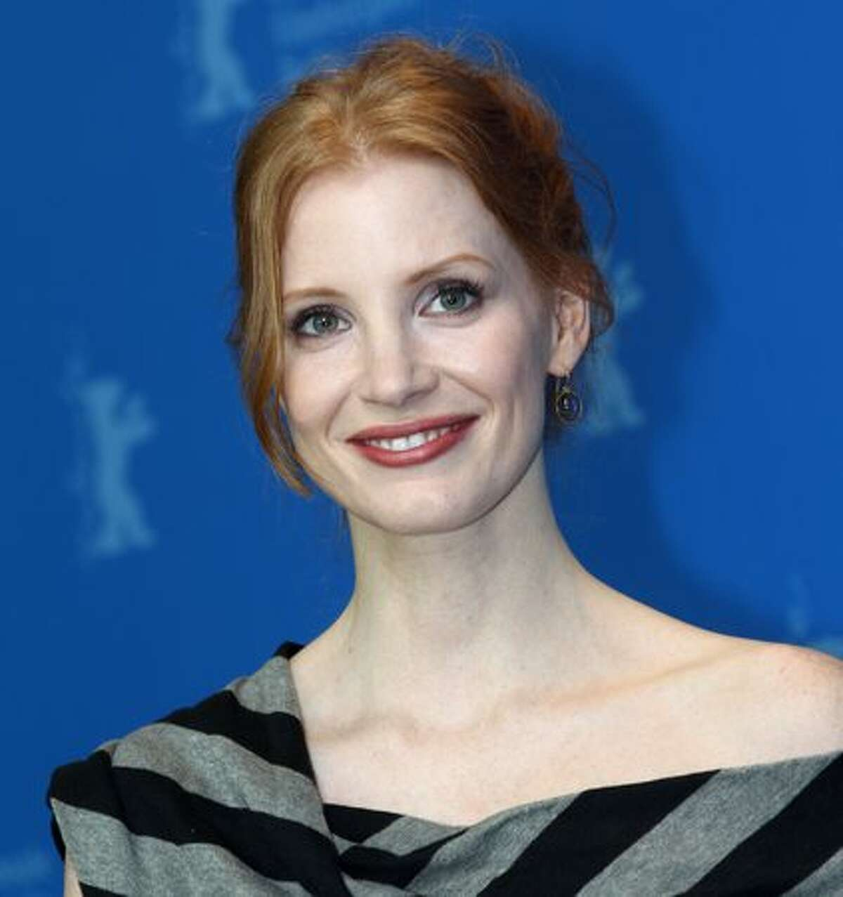 Actress Jessica Chastain poses for photographers during a photocall for the movie
