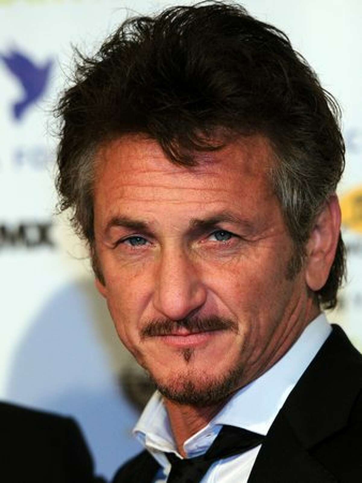 Actor Sean Penn arrives for the gala Cinema for Peace on the sidelines of the 61st Berlin International Film Festival.