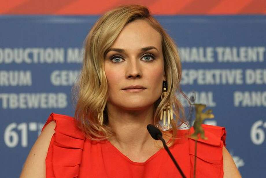 "German actress Diane Kruger addresses a press conference about the film ""Unknown Identity"" by Spanish-born US director Jaume Collet-Serra in Berlin during the international Berlinale film festival. Photo: Getty Images"