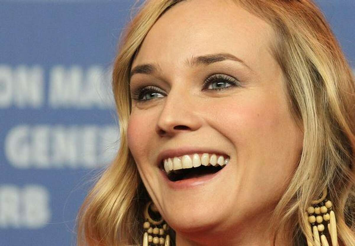 German actress Diane Kruger addresses a press conference about the film