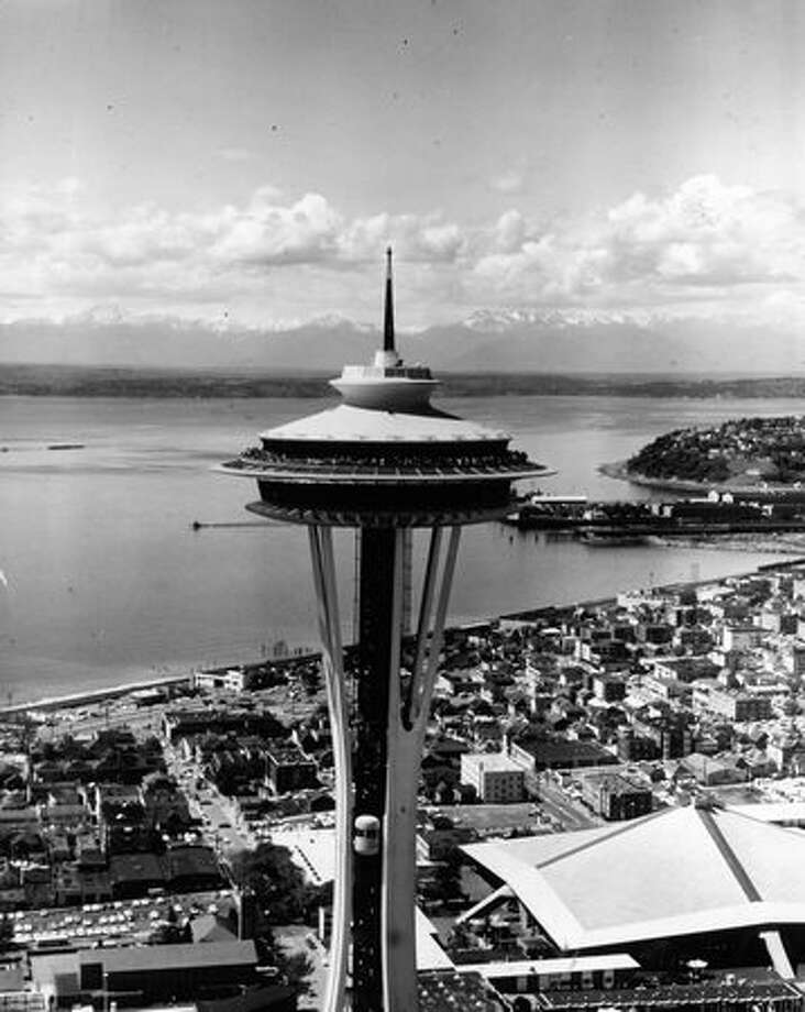 The Space Needle, 1960s. Photo: P-I File