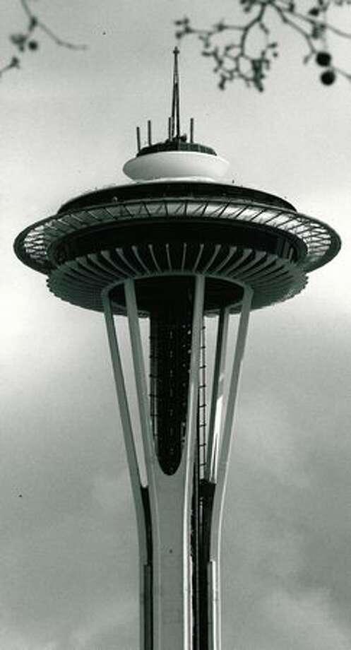 The Space Needle, April 1972. Photo: P-I File
