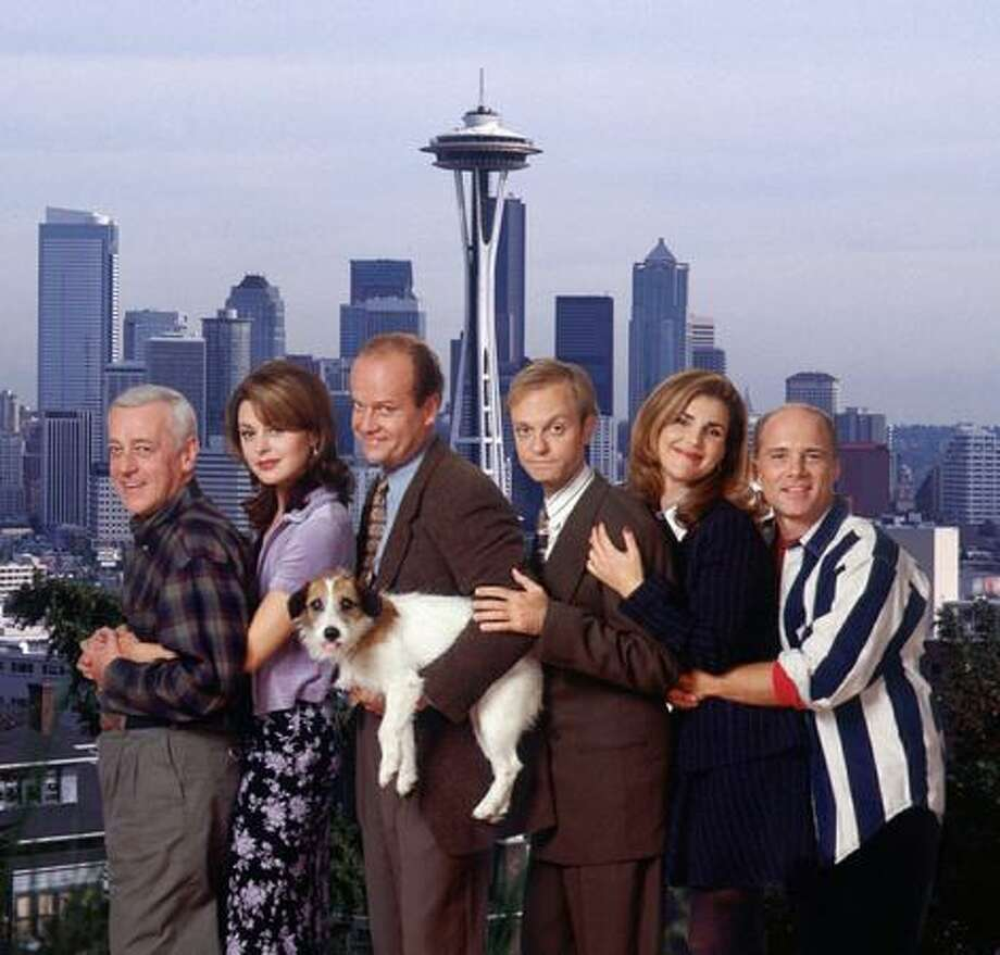 "This 1997 promotional photo shows the cast of ""Frasier,"" an NBC show based in Seattle. (Chris Haston/NBC photo/Seattlepi.com file) Photo: P-I File"
