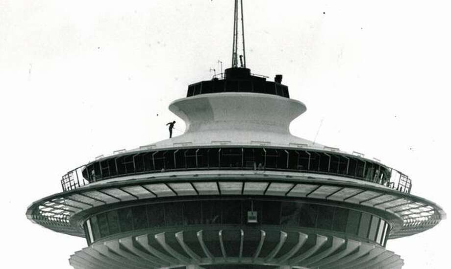 The Space Needle, Sept. 19, 1978. Photo: P-I File