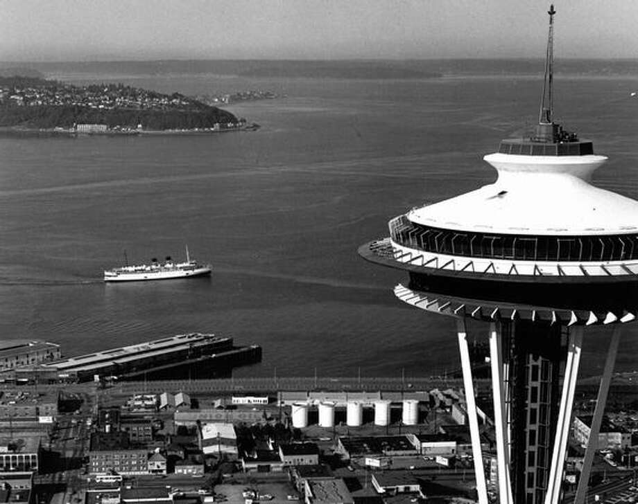 The Space Needle, July 9, 1978. Photo: P-I File