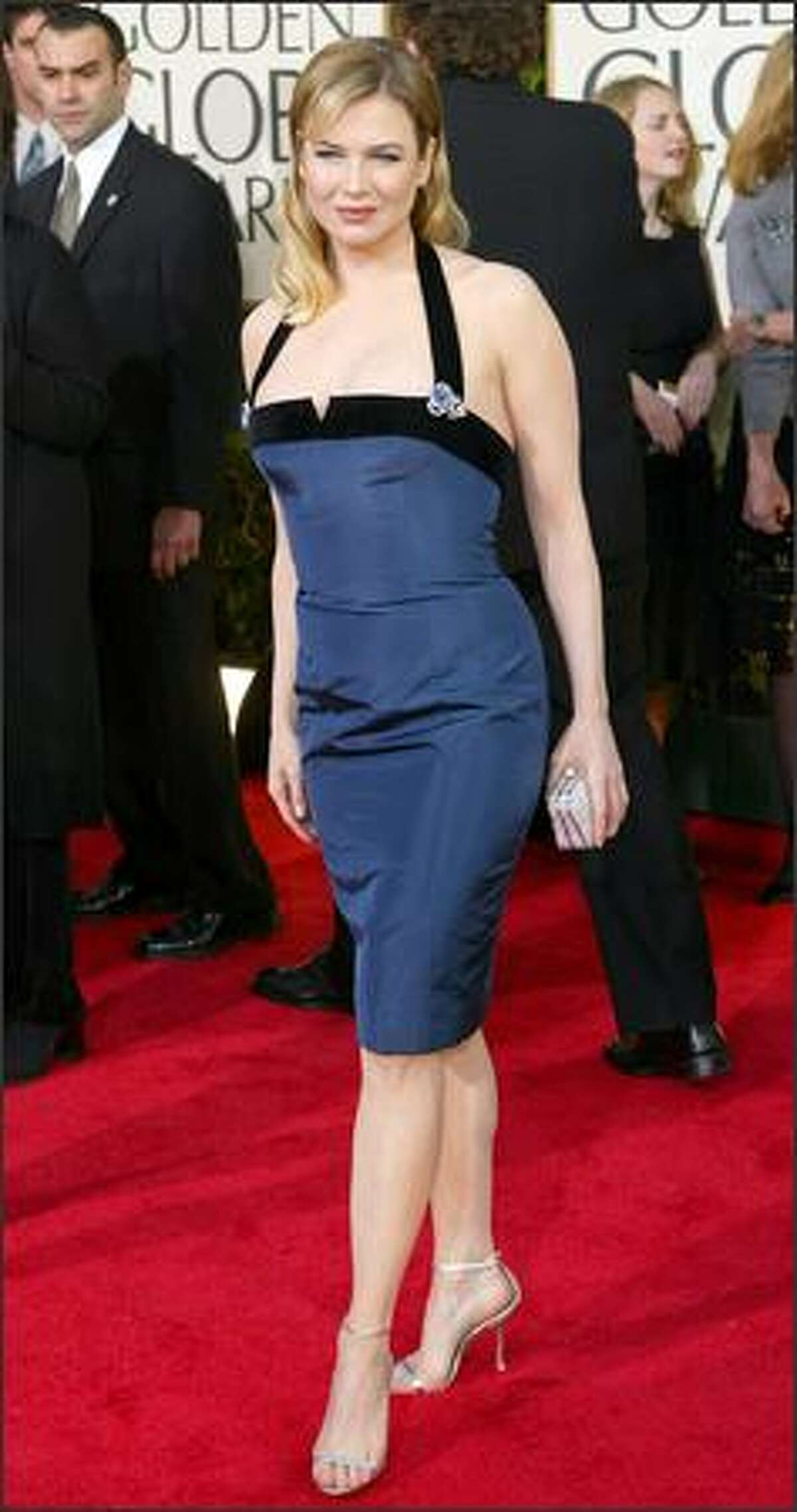 Renee Zellweger, nominated for best supporting actress for her work in