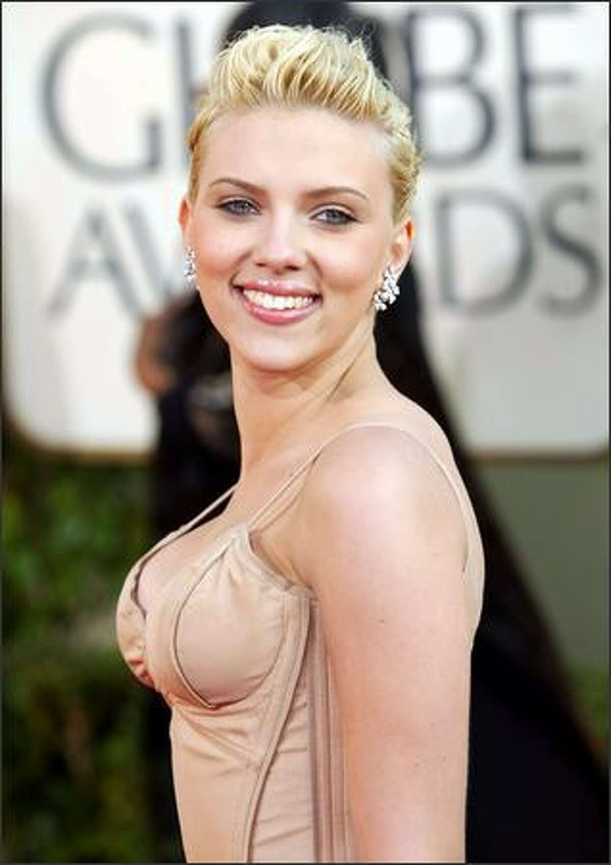 Scarlett Johansson, nominated for best actress in a musical or comedy for her work in