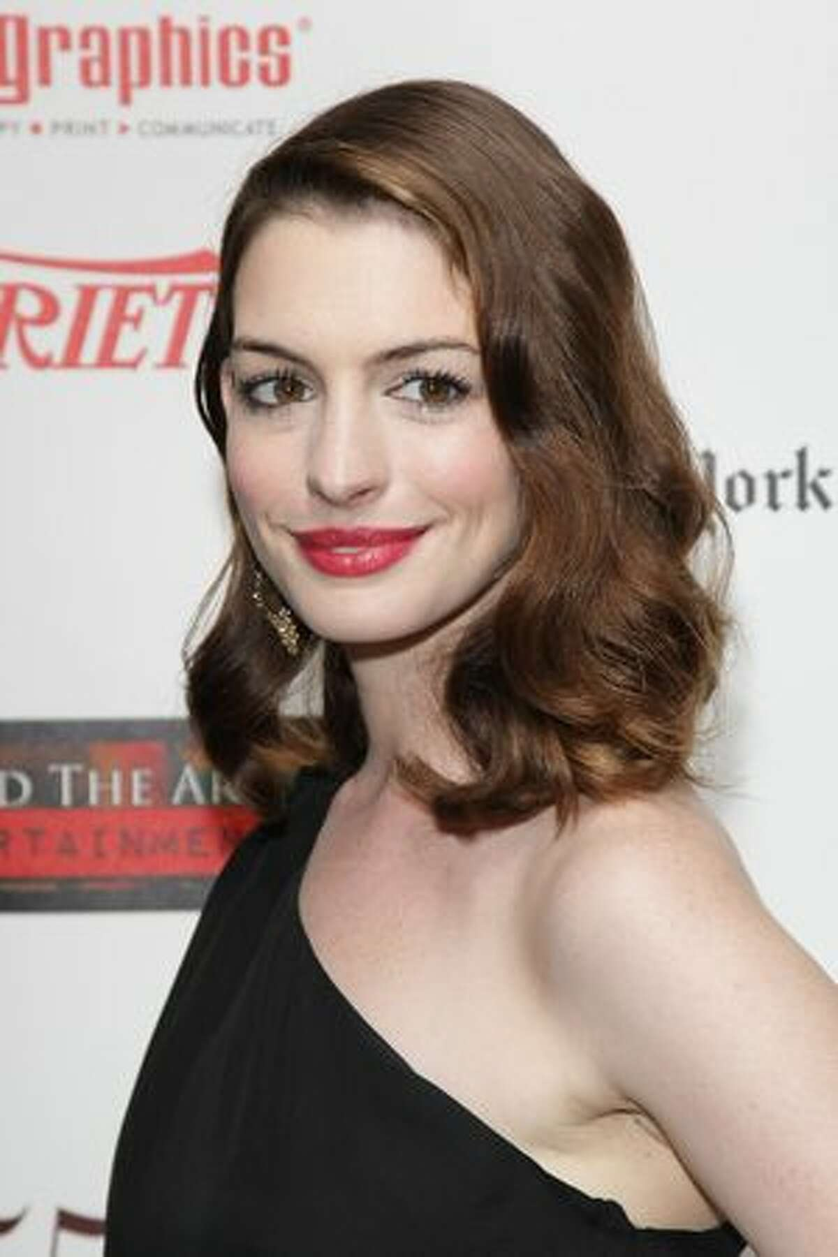Anne Hathaway, May 23, 2010, age 27.