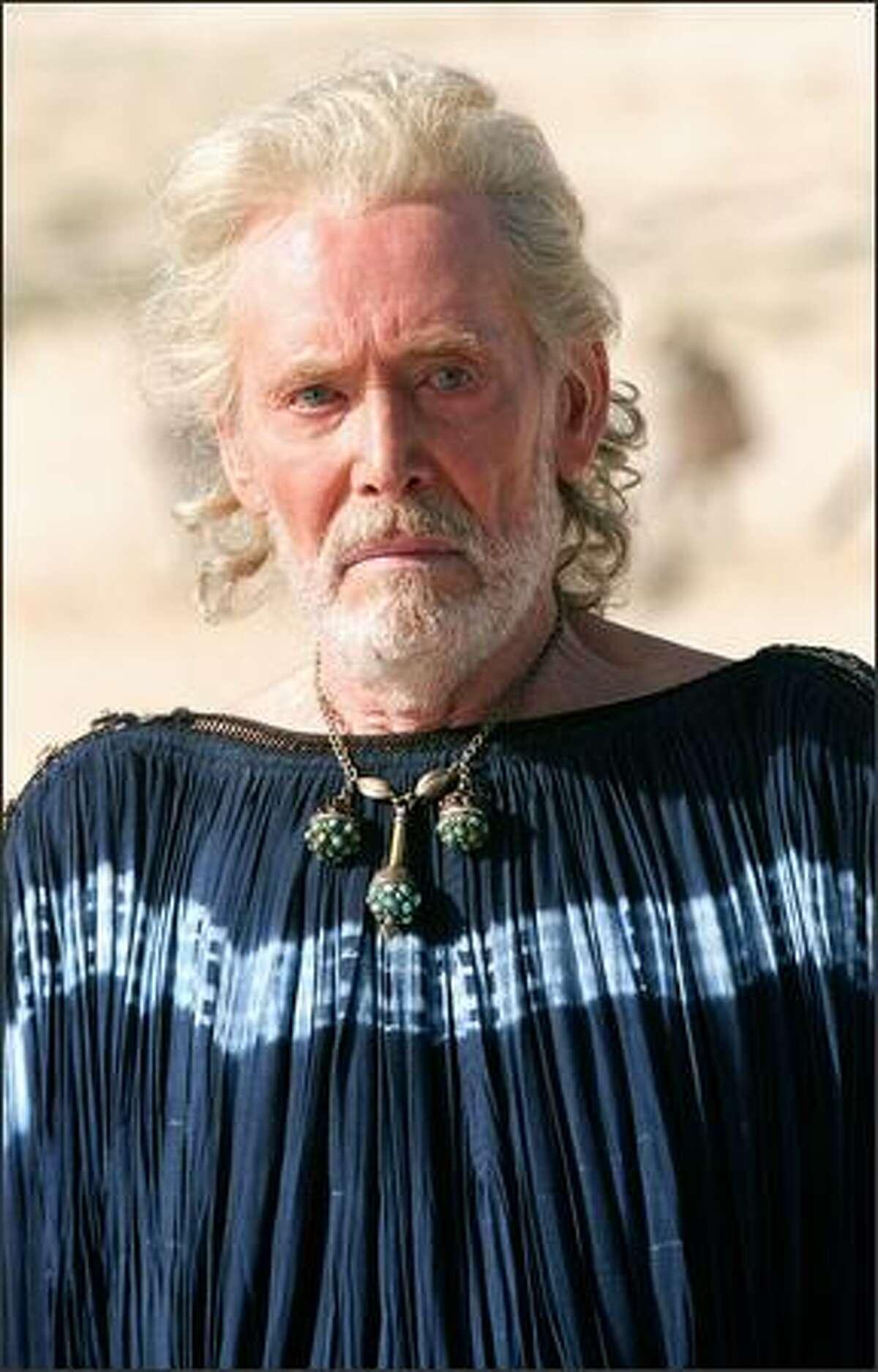 Peter O'Toole as 'Priam.'