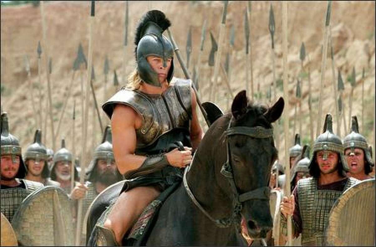 Brad Pitt as 'Achilles.'