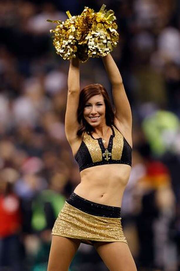 A cheerleaders of the New Orleans Saints. Photo: Getty Images