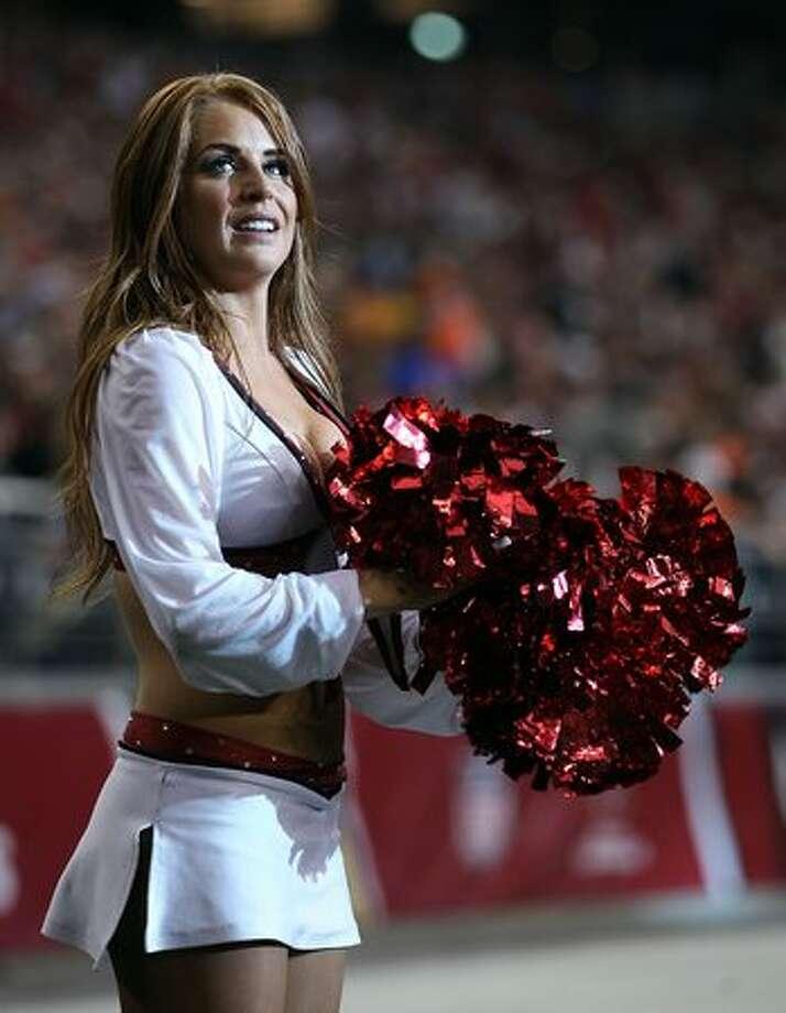 An Arizona Cardinals cheerleader. Photo: Getty Images