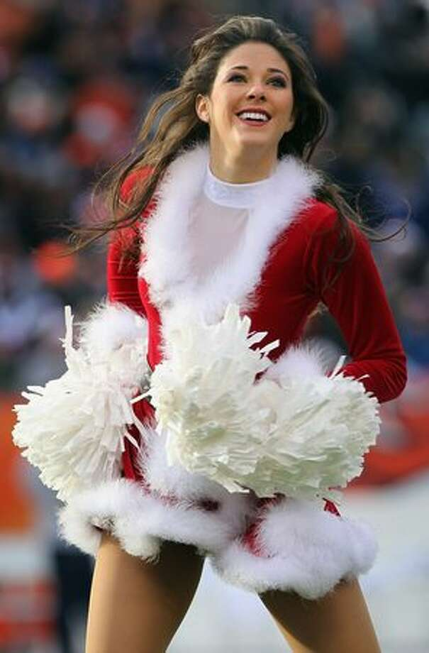 A member of the Denver Broncos cheerleaders. Photo: Getty Images