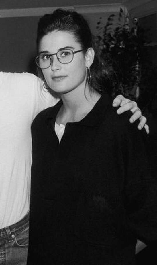 "Born Demetria Gene Guynes, Demi Moore got her start as a model, before starring in '80s movies ""Blame it on Rio, ""St. Elmo's Fire"" and ""About Last Night..."" She's pictured on June 5, 1987 at age 24. Photo: Getty Images"