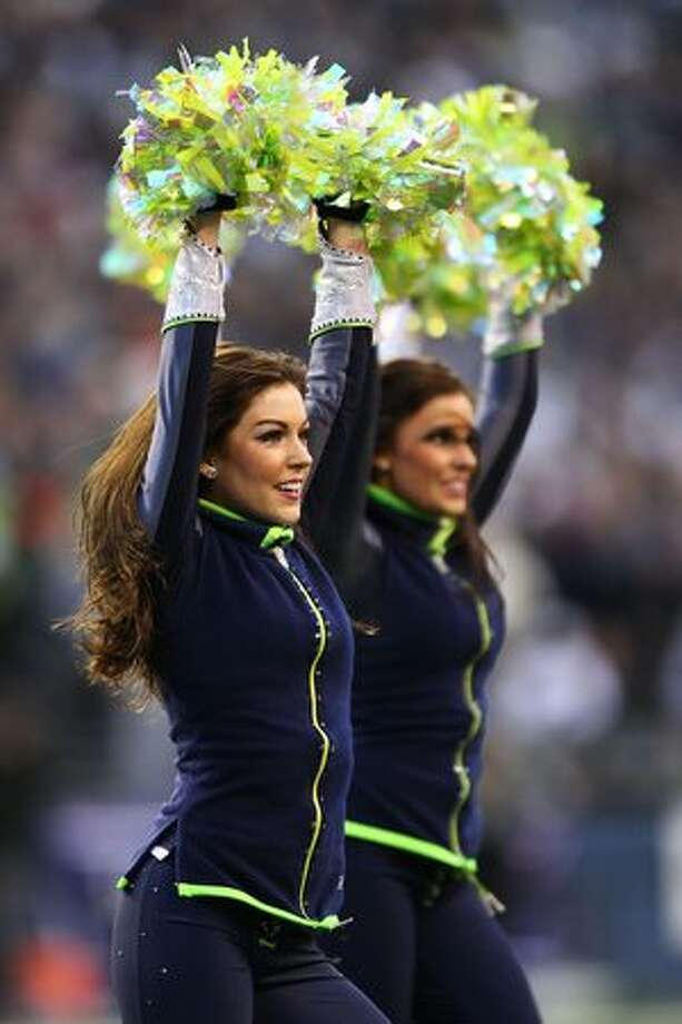 Seahawks Sea Gals perform. Photo: Getty Images