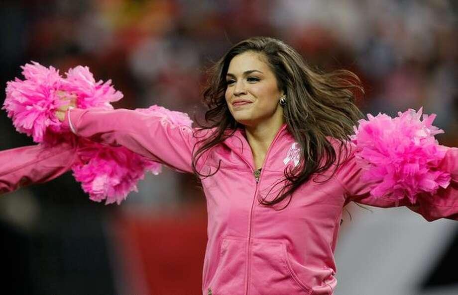 An Atlanta Falcons cheerleader. Photo: Getty Images