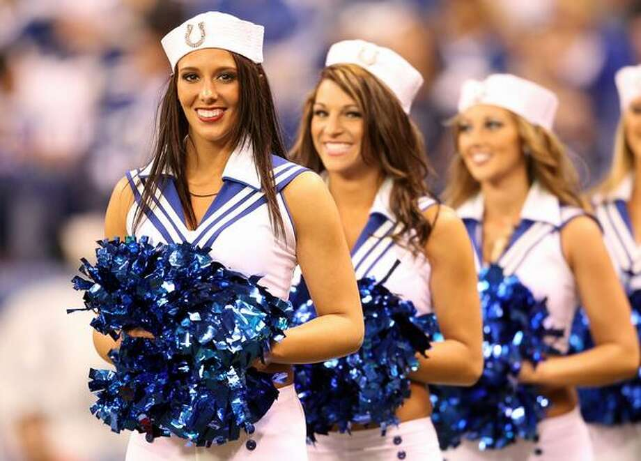 The Indianapolis Colts cheerleaders. Photo: Getty Images