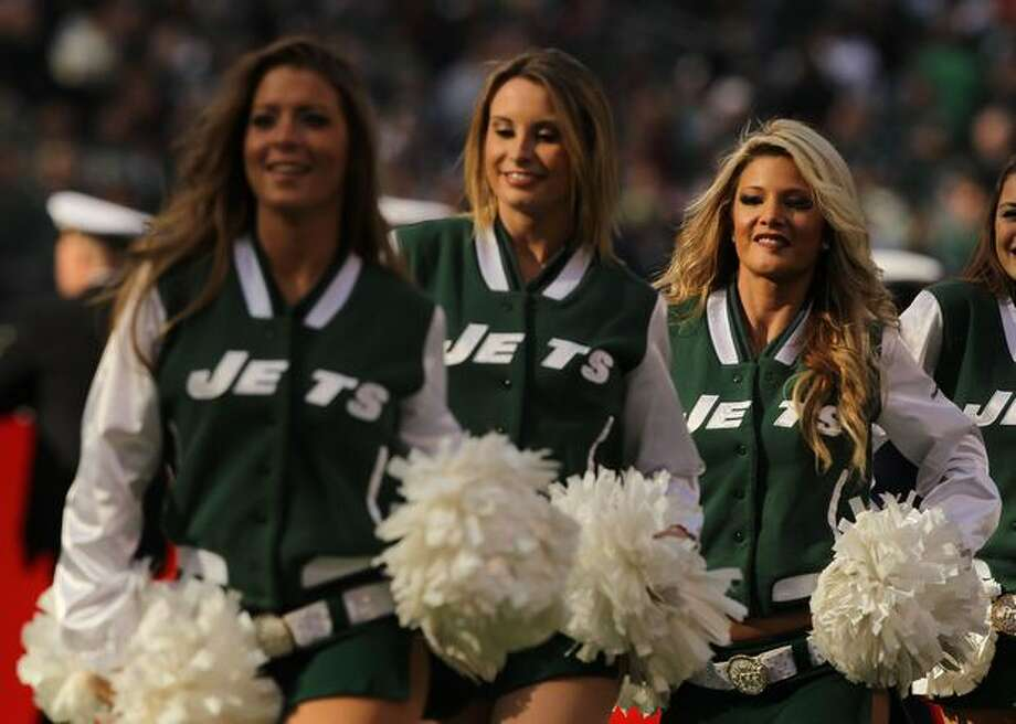 New York Jets cheerleaders. Photo: Getty Images