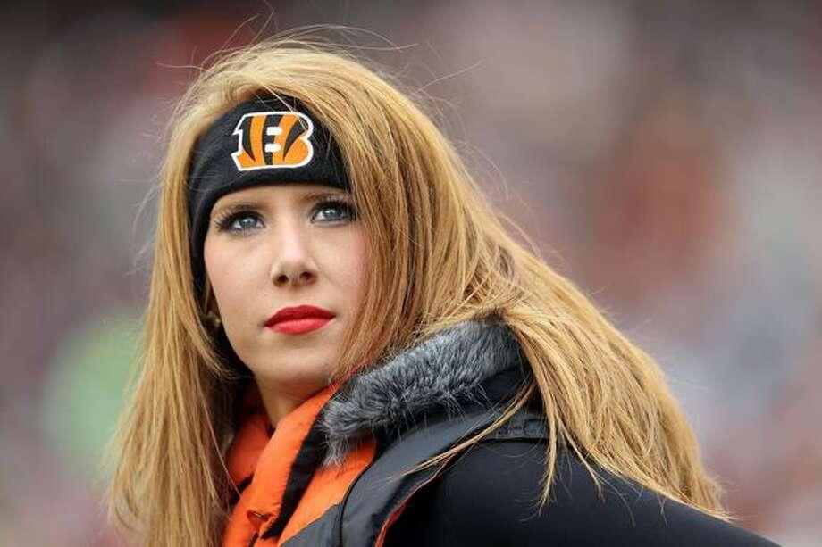 A Cincinnati Bengals cheerleader. Photo: Getty Images
