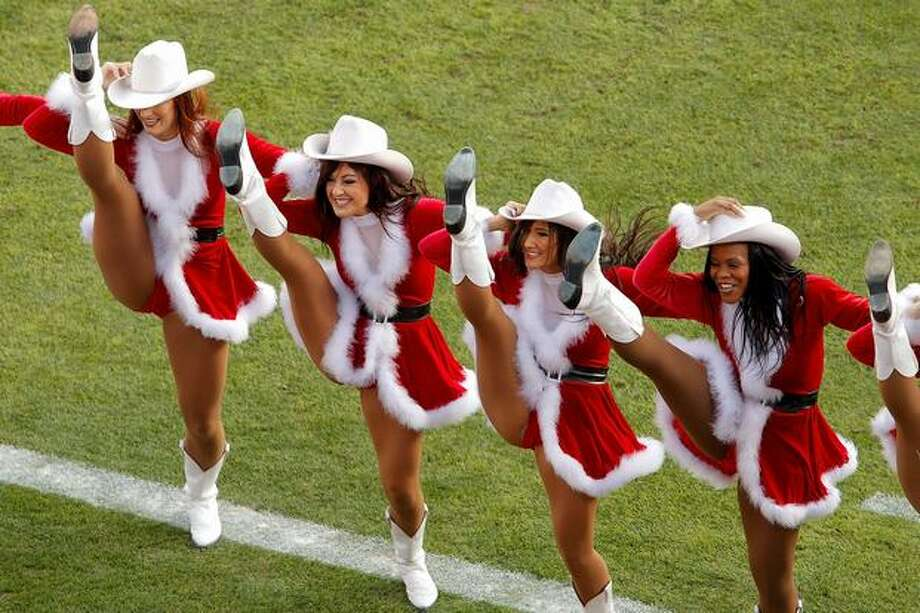 The Denver Broncos cheerleaders. Photo: Getty Images