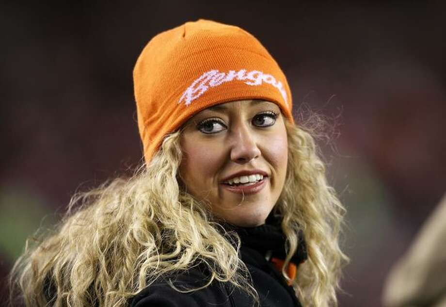 A Cincinnati Bengals cheerleader. Photo: Getty Images